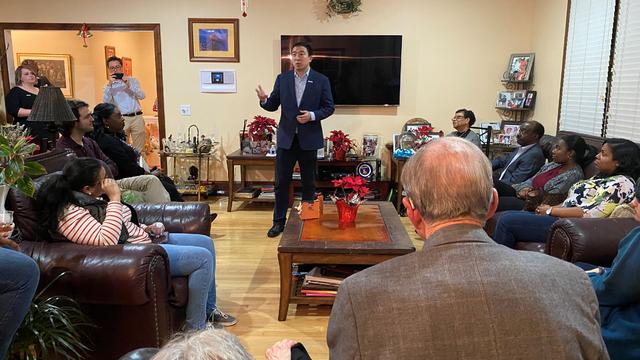 Andrew Yang house meet and greet Columbia South Carolina