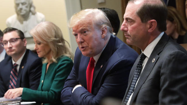 President Trump Holds Listening Session In Cabinet Room On Vaping And The E-Cigarette Epidemic