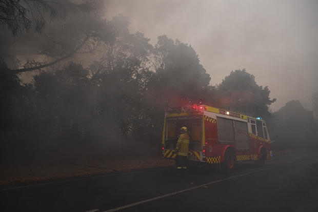 Firefighters Continue To Battle Multiple Blazes Across NSW As Army Is Called In To Assist