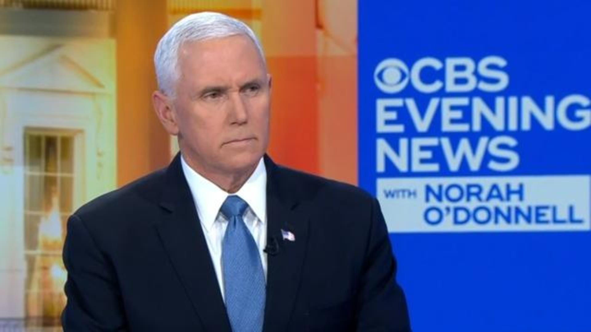 Vice President Mike Pence Full Interview With Cbs Evening News Anchor Norah O Donnell Cbs News