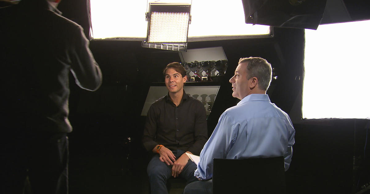 Rafael Nadal Still Really Likes Playing Tennis 60 Minutes Cbs News