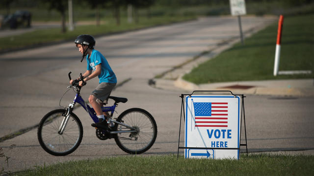 Voters Go To The Polls In Wisconsin's Primary Elections