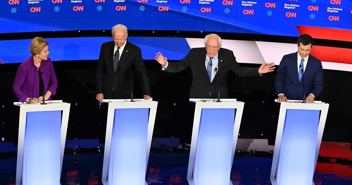 民主党候補者を満たすための最後の議論の前にアイオワCaucuses