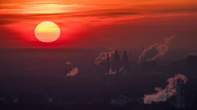 climate change — sun