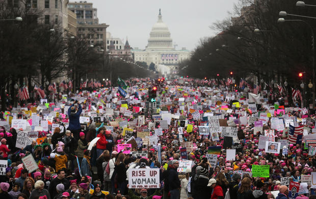 National Archives apologizes for altering 2017 Women's March photo