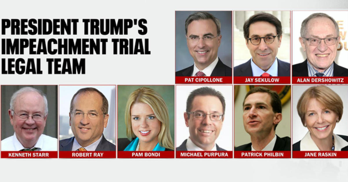 Trump's legal team set for impeachment trial