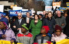 Democratic Presidential Candidates Attend MLK Rally At South Carolina Capitol Dome