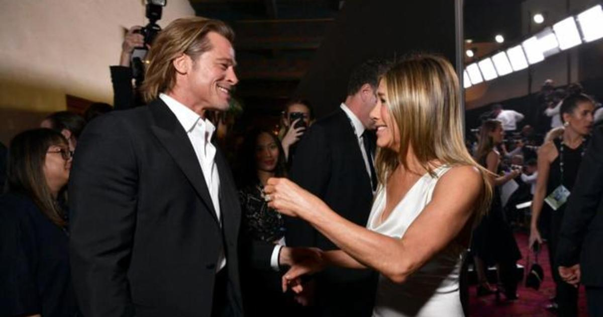 Brad Pitt and Jennifer Aniston steal the show at SAG Awards thumbnail