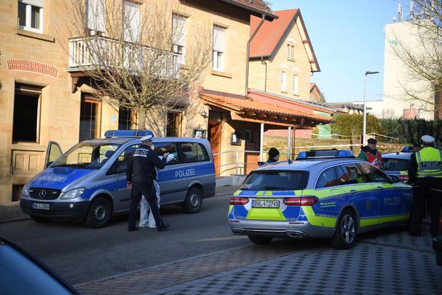 GERMANY-POLICE-CRIME-SHOOTING