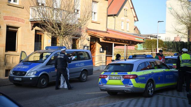 GERMANY-POLICE-CRIME-SHOOTING