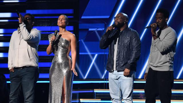 Alicia Keys, Boyz II Men — Grammys 2020