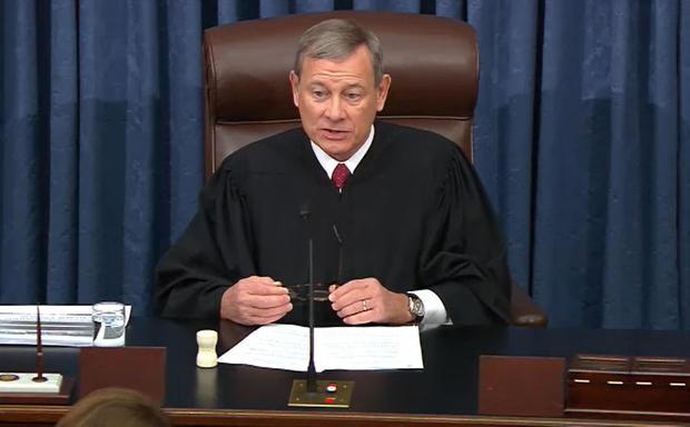 Senate Impeachment Trial Of President Donald Trump Continues