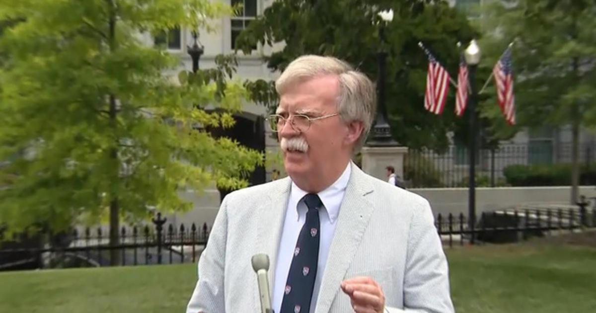 Bolton claim casts doubt on Trump's impeachment defense image