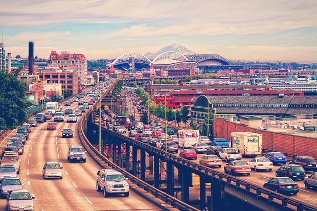 Worst traffic cities in the U.S., ranked