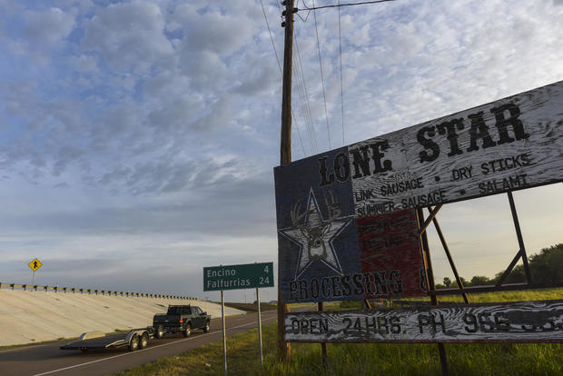 Migration has slowed from Mexico and Central America through southern Texas.