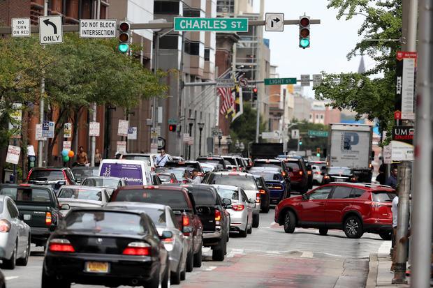 Police Investigate Suspicious Van In Parking Garage, And Close Off Multiple Blocks In Baltimore's Inner Harbor