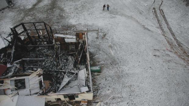 Burned Stermer home