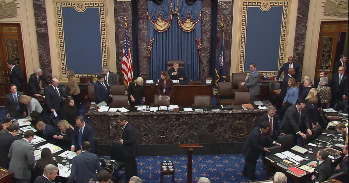 Παραπομπή Δίκη: Γερουσία Συζήτηση Για Ακρόαση Μαρτύρων Συνεχίζεται