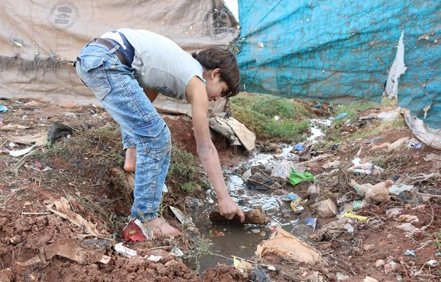 Epidemic threat at IDP camps in Syria's Idlib