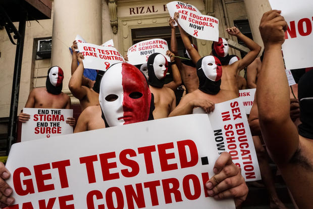 PHILIPPINES-HEALTH-HIV-OFFBEAT