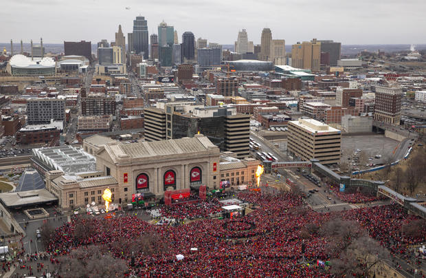 Kansas City Chiefs victory parade