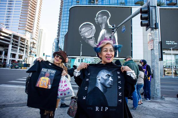 Kobe Bryant Memorial at L.A. Live