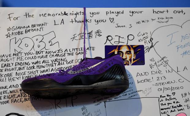 Los Angeles Lakers Honors Kobe Bryant