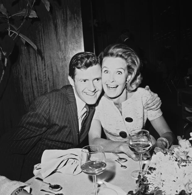 Orson Bean and Dina Merrill