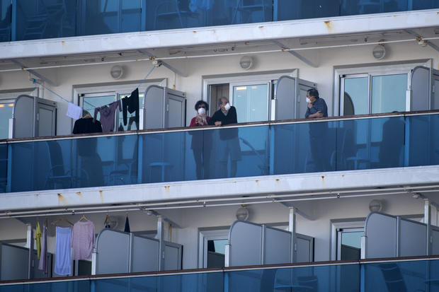 Another 44 Covid-19 Cases Reported Aboard Cruise Ship In Japan