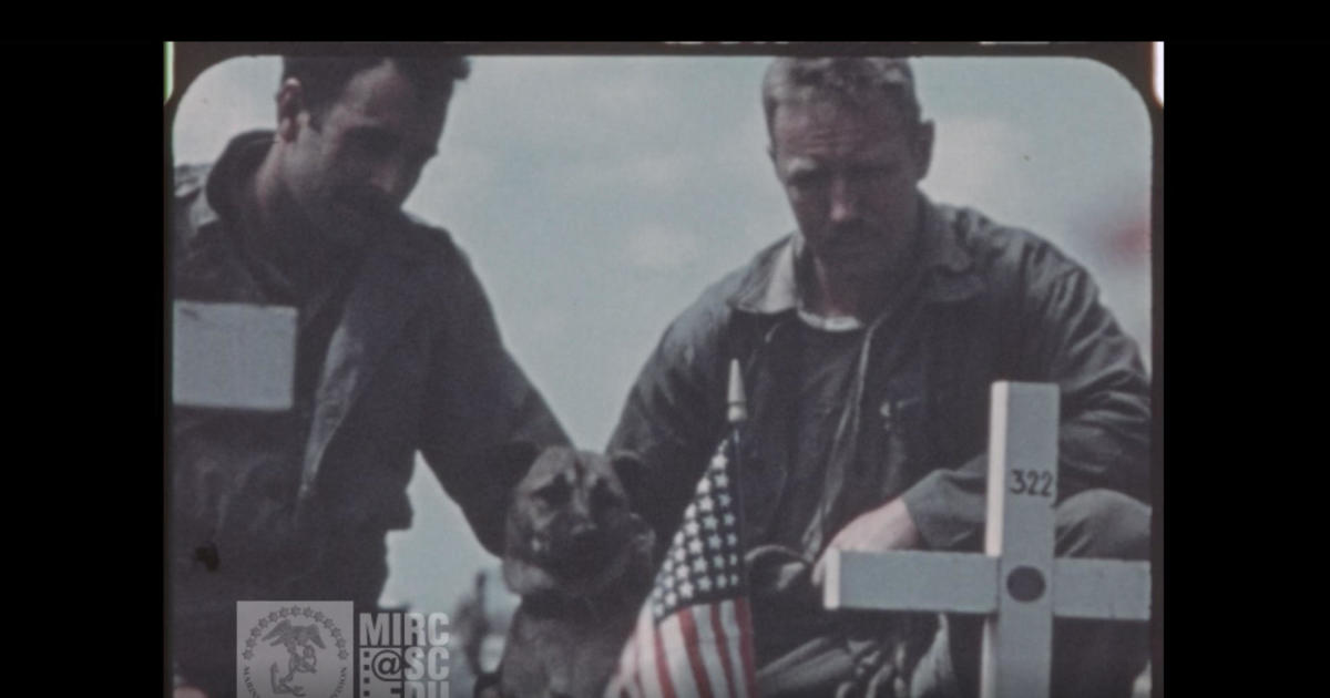 Historic Iwo Jima footage gives rare look at Marines in the WWII battle