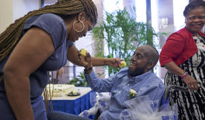 Man with an incurable brain tumor finally marries his longtime love