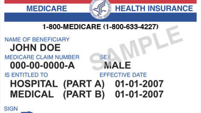 Medicare Cards Identity Fraud