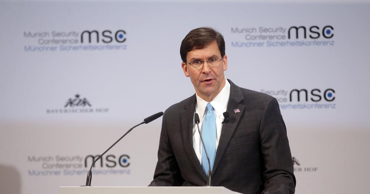 "U.S. defense secretary tells world leaders China is Pentagon's ""top concern"""