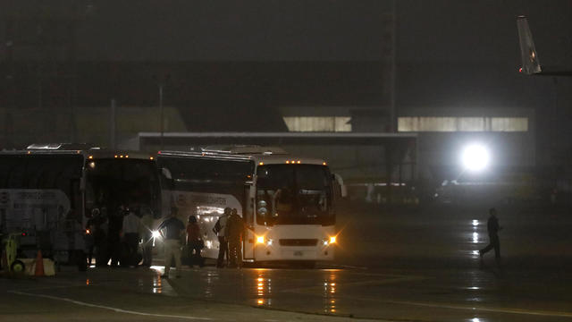 Flight Evacuating American Cruise Ship Passengers Exposed To Coronavirus In Japan Arrives In US