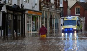 2nd massive storm hits North Atlantic and Western Europe