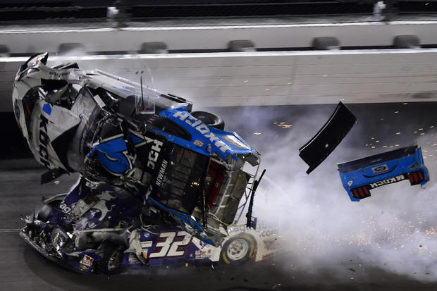 Ryan Newman crash — NASCAR Cup Series 62nd Annual Daytona 500
