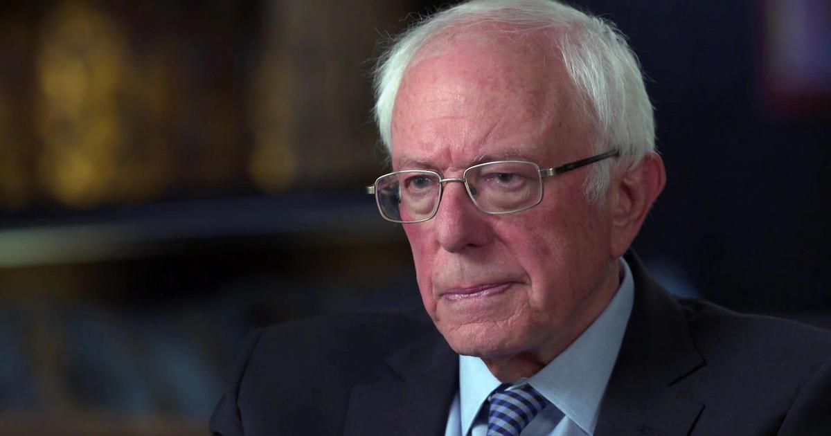 Bernie Sanders says he thinks Donald Trump would...