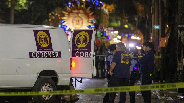 Mardi Gras Float Woman Killed