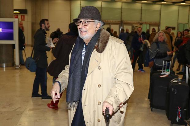 Celebrity Sighting In Madrid- December 17, 2019