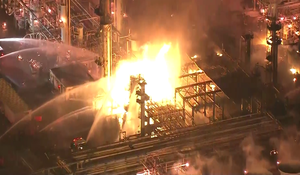 Investigation into cause of explosion at Southern California oil refinery
