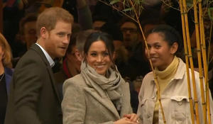 Prince Harry and Meghan Markle continue farewell tour after split from royal family