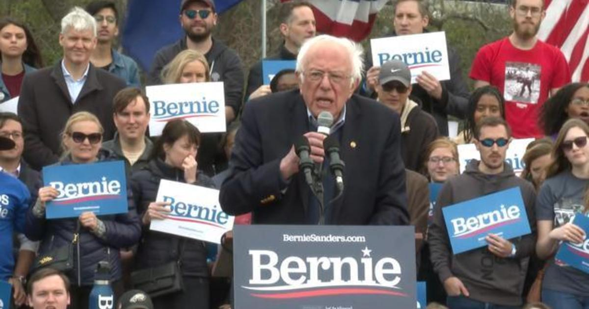 """Sanders: """"Hey Mr. Trump, why don't you worry about the coronavirus rather than disrupting the Democratic primary right here in South Carolina?"""""""