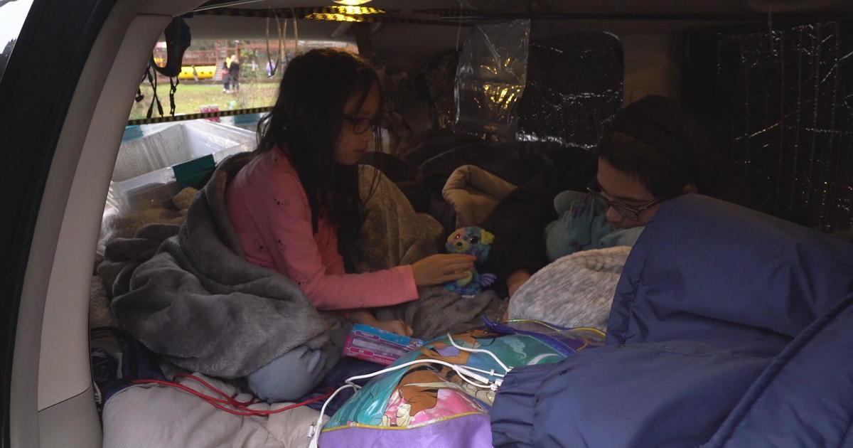 Homeless living in car