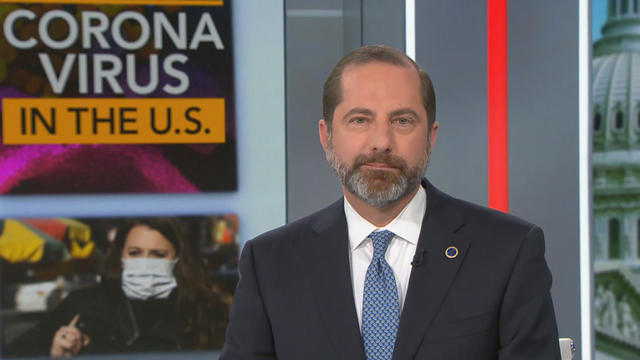 Alex Azar Says He S Personally Overseeing Investigation Into Hhs Whistleblower Allegations On Coronavirus Cbs News