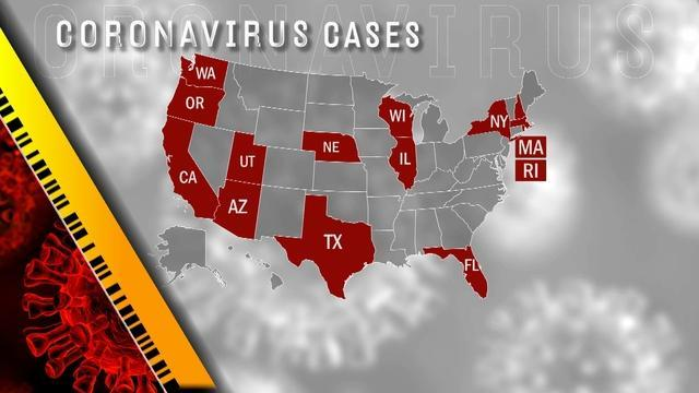 Coronavirus spreading fast USA-н зурган илэрц