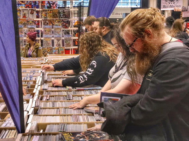 Fans attend Chicago Comic & Entertainment Expo