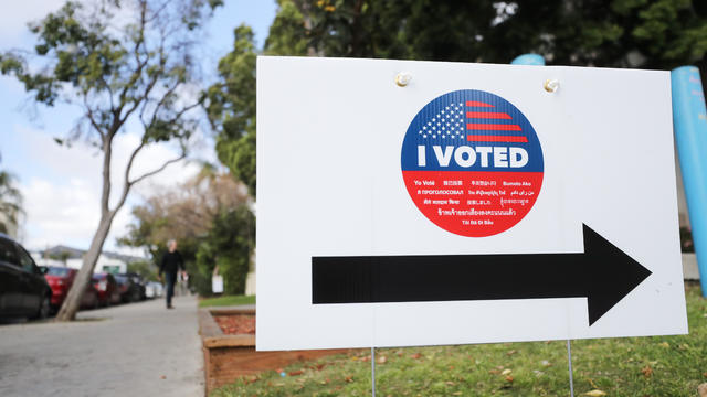 Californians Head To The Polls For Early Voting Ahead Of Super Tuesday