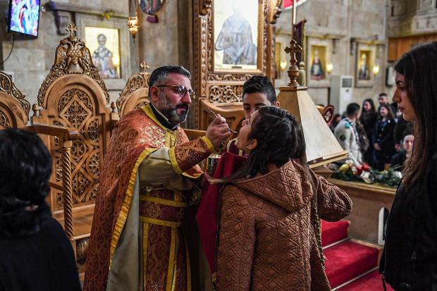 SYRIA-RELIGION-CHRISTIANITY-CHRISTMAS-ORTHODOX