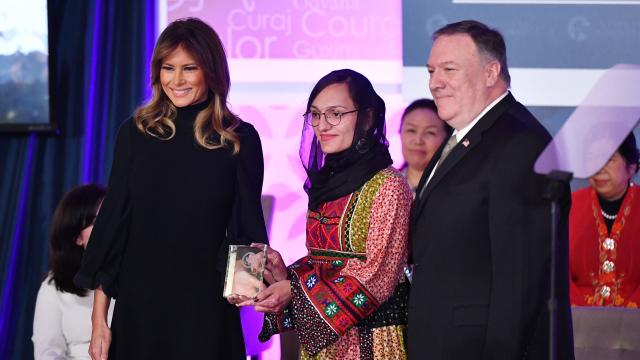 US-DIPLOMACY-WOMEN-AWARDS