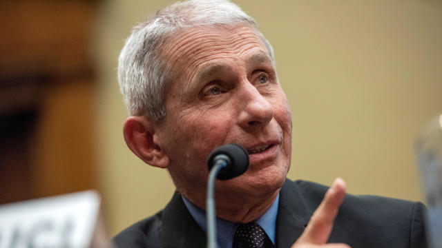 Dr. Anthony Fauci, director of the National Institute of Allergy and Infectious Diseases, testifies before a House Energy and Commerce subcommittee on the coronavirus outbreak in Washington February 26, 2020.